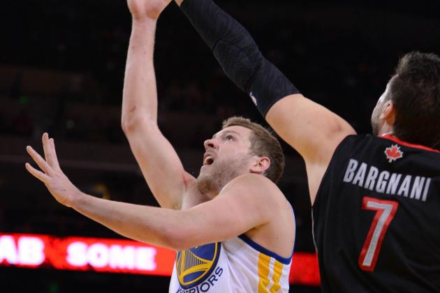 Golden State Warriors Hold off Toronto Raptors, Snap Four-Game Slide