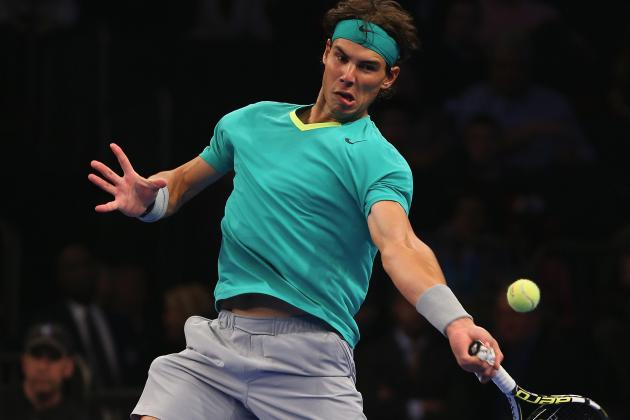 2013 BNP Paribas Showdown: Rafael Nadal Loses but His Knee Passes the Test