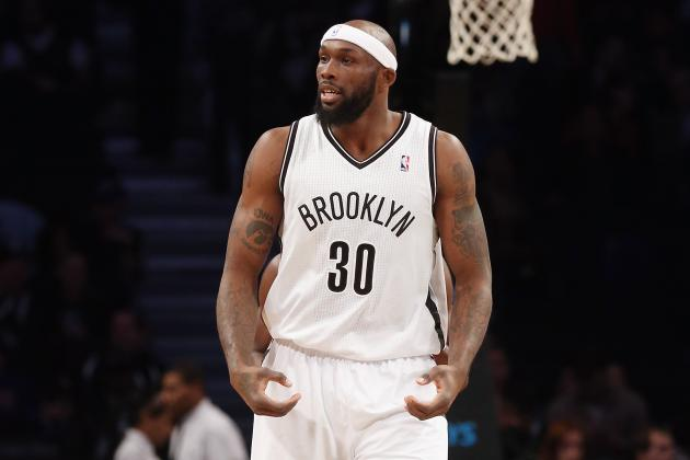 Evans May Be Odd Man out If Carlesimo Plays Lopez, Blatche to Help Offense