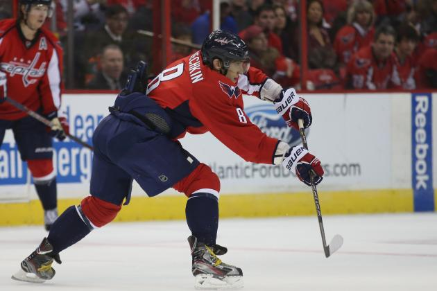 Alex Ovechkin Wants More Control of the Puck