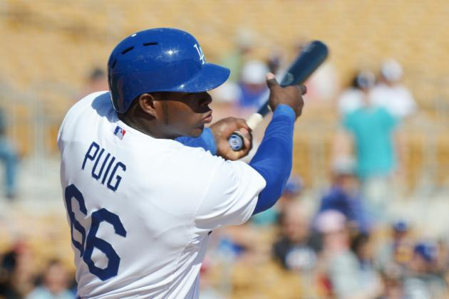 Debate: Should Yasiel Puig Get a Shot in the Majors This Year?