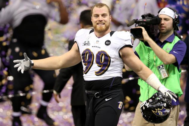Ravens Don't Expect to Re-Sign Linebacker Paul Kruger