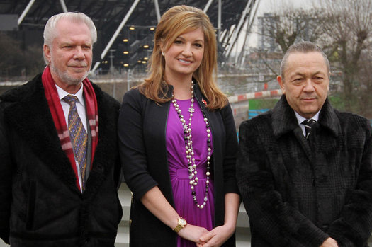 David Gold and David Sullivan Invest £35m in West Ham to Achieve '3-Point' Plan