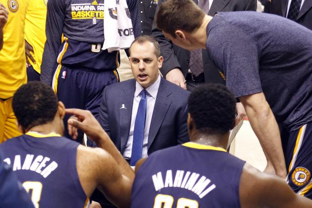 Frank Vogel Wins No. 100 as Pacers Coach