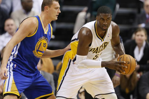 Pacers' Hibbert Finally Finds His Offensive Touch