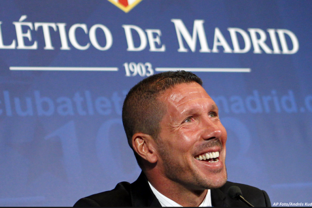 Diego Simeone Signs New Four-Year Atletico Madrid Contract