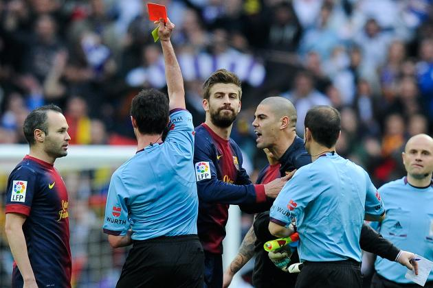 Barcelona 'keeper Victor Valdes Blasted Ref After Real Madrid Loss