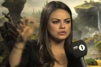 Mila Kunis Agrees to Go to a Watford Game