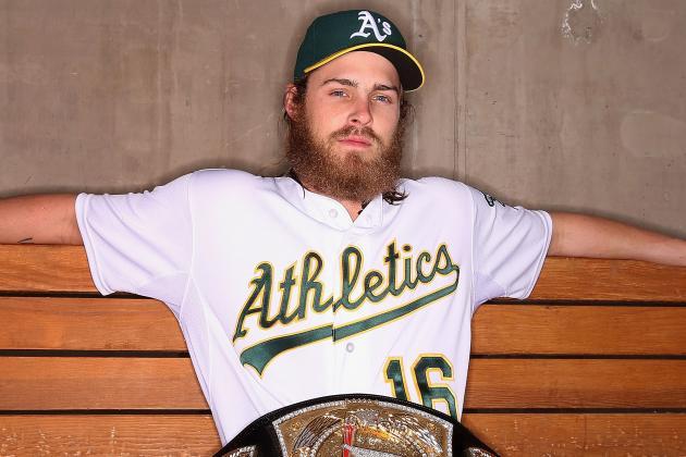 Reddick and WWE Superstar Engage in Beard-off
