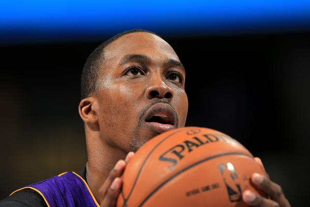 Dwight Howard Makes 82 Percent of Free Throws During Practice