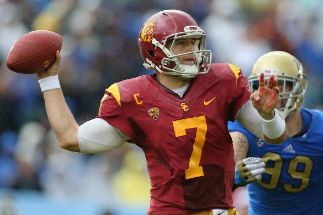 Could Matt Barkley Surpass Geno Smith as Best QB in Draft Class?