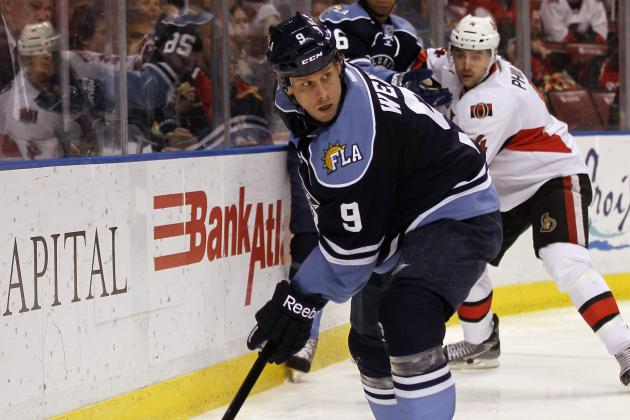 Panthers Lose Trade Bait Stephen Weiss