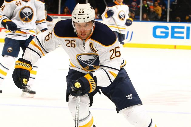 Sabres Welcome Back Vanek