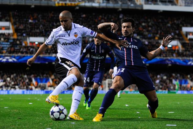 PSG vs. Valencia: Who Are the Key Men in UEFA Champions League Second Leg?