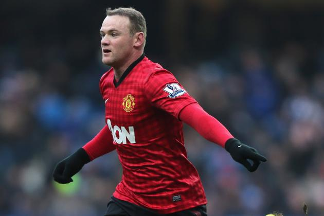 Wayne Rooney Left out of Manchester United's Starting Lineup vs. Real Madrid