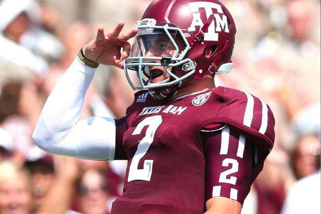 There's No Need to Worry About Johnny Manziel Thinking About the NFL