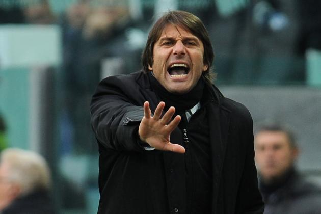 Juventus' Antonio Conte Shrugs off Chelsea and Real Links