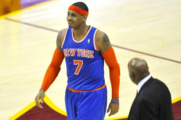 Best-Case, Worst-Case Scenarios for Carmelo Anthony's Injury
