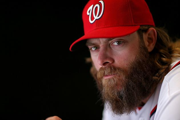 Jayson Werth Goes Back to His 'Homer Bat'