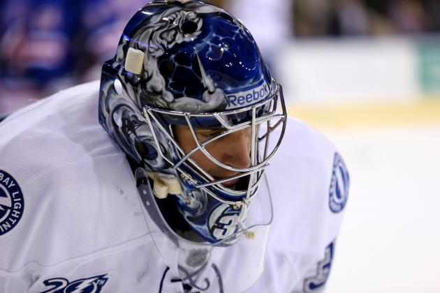 Injury to Tampa Bay Lightning Goaltender Matheu Garon Not Believed Serious