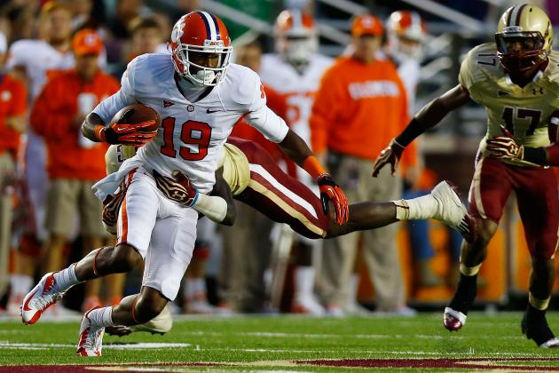 Clemson Football: Meet Sammy Watkins' Supporting Cast at WR