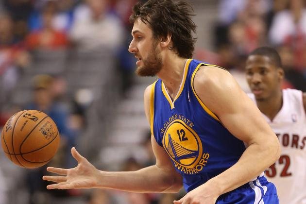 Stats: Warriors With and Without Andrew Bogut on the Floor