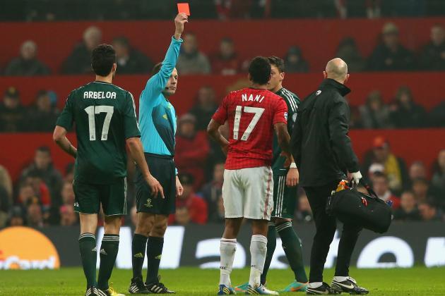 Manchester United vs. Real Madrid: Red Devils Can't Blame Referee for Loss