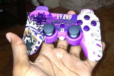 Instagram: Tyreke's Custom Playstation Controller