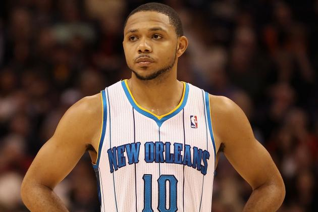 Eric Gordon Struggling to Make Shots After Halftime