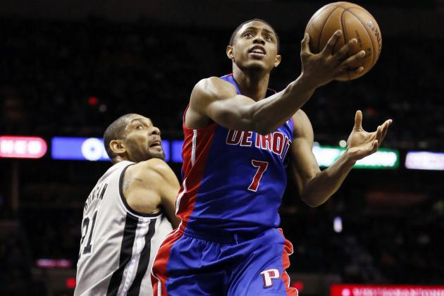 Brandon Knight Committed to Making His Spot on the Pistons