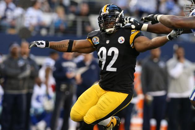 Steelers, James Harrison Searching for Common Ground