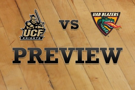 UCF vs. UAB: Full Game Preview