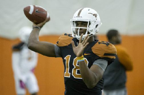 Texas Football: Predicting the Longhorns' Next 3 Starting QBs