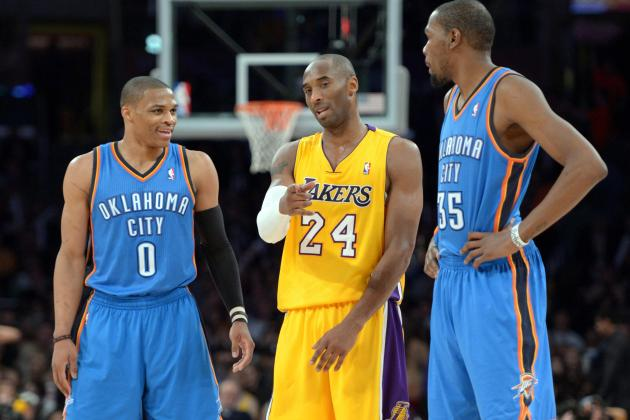 Improved Lakers Get Measuring Stick Game Against Thunder
