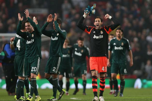 Manchester United vs. Real Madrid: Win Establishes Blancos as True UCL Threat