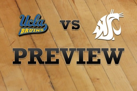 UCLA vs. Washington State: Full Game Preview