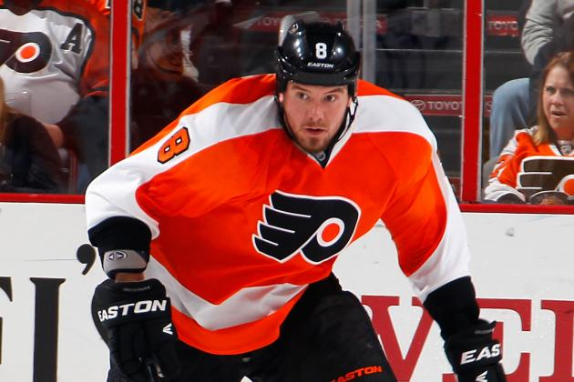 Grossmann Suffers Hip Injury Against Rangers