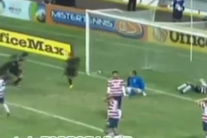 US Keeper Trips Mexico Scorer After Winning Goal