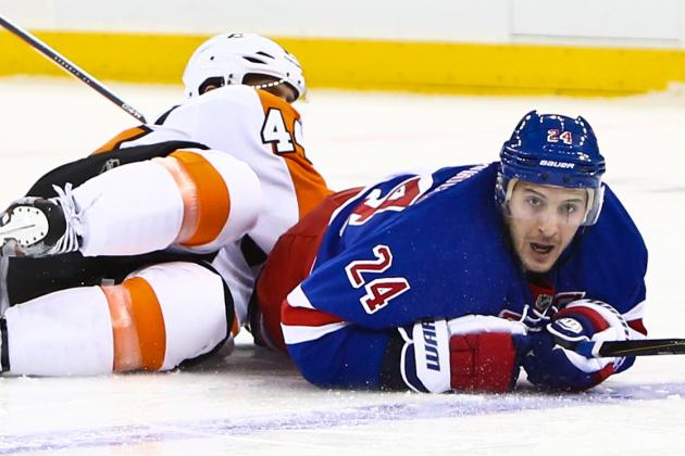 Rangers 4, Flyers 2