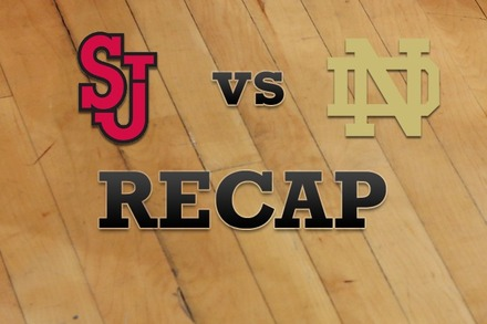 St John's vs. Notre Dame: Recap, Stats, and Box Score