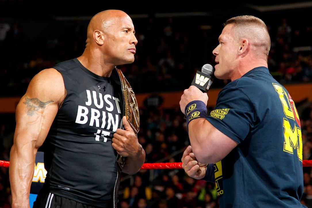 The Rock Vs John Cena Who Won