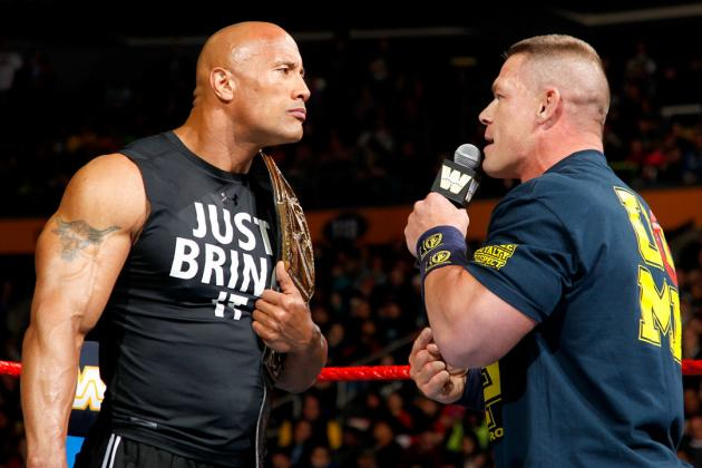 John Cena vs. the Rock Will Not Impress at WrestleMania 29