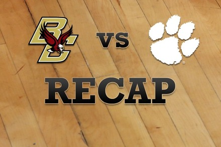 Boston College vs. Clemson: Recap, Stats, and Box Score