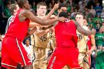 Watch: Fight Breaks Out Between Notre Dame and St. John's