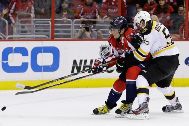 Washington Capitals Overcome 3-0 Deficit to Beat Boston Bruins 4-3 in Overtime