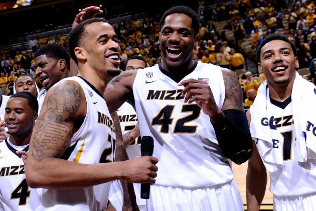 Missouri Routs Ex-Coach Anderson and Arkansas 93-63