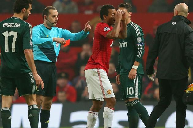 Real Madrid Beats Manchester United: Red Card Was Justifiable (Update)