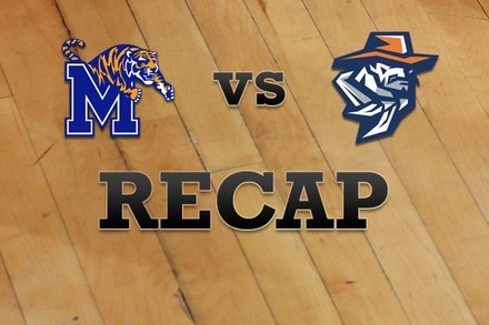 Memphis vs. UTEP: Recap, Stats, and Box Score