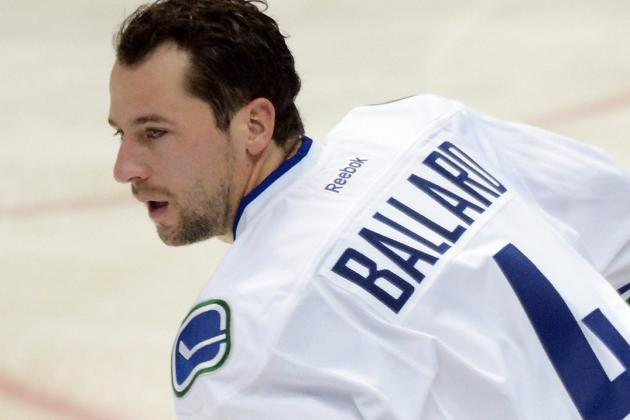 Ballard Won't Return vs. Sharks Due to Lower Body Injury