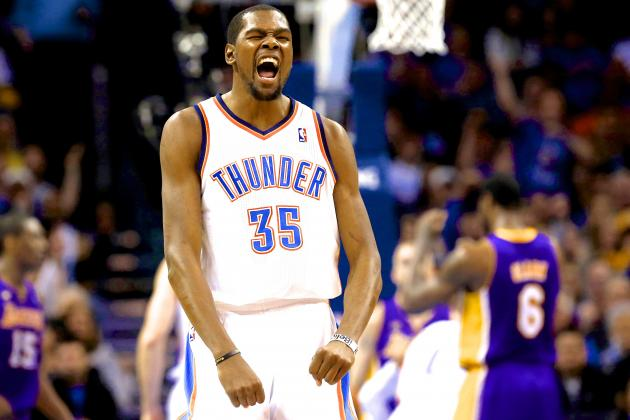 LA Lakers vs. Oklahoma City Thunder: Live Analysis, Scores and Highlights